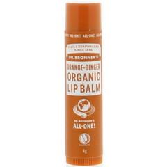 Dr Bronners Lipbalsem sinaasappel gember (4 gram)