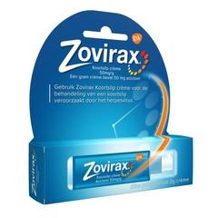 Zovirax Cream 5% pomp (2 gram)