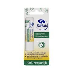 Dr Swaab Lippenbalsem 100% natuurlijk blister (5 gram)