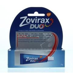 Zovirax Cream duo (2 gram)