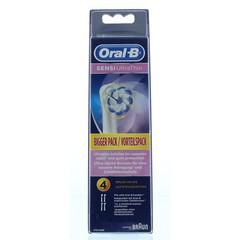 Oral B Opzetborstels sensitive ultra thin (4 stuks)