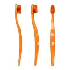Biobrush Kindertandenborstel oranje (1 stuks)