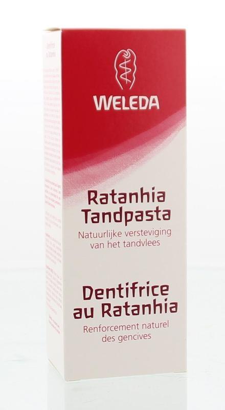 Weleda Ratanhia tandpasta (75 ml)