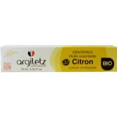 Argiletz Tandpasta citroen (75 ml)