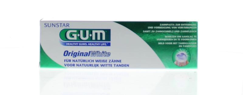 GUM Original white tandpasta (75 ml)