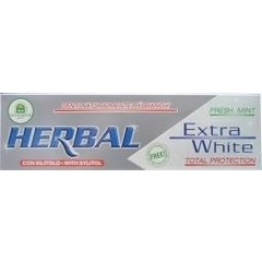 Natura House Herbal extra white tandpasta (100 ml)