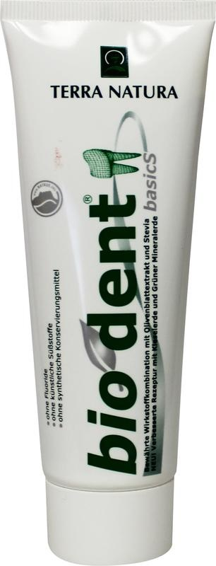 Biodent Biodent Tandpasta stevia basic (75 ml)