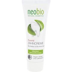 Neobio Tandpasta fluor salie & aloe vera (75 ml)
