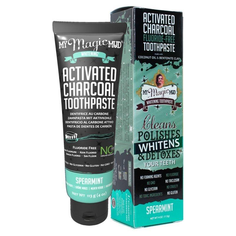 MY Magic Mud Actieve kool tandpasta spearmint (113 gram)