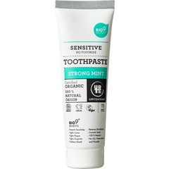 Urtekram Tandpasta sensitive strong mint (75 ml)