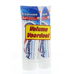 Aquafresh Tandpasta freshmint 75 ml duo (150 ml)