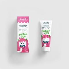 Nordics Tandpasta vegan kind bubble gum (50 ml)