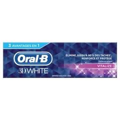 Oral B Tandpasta 3D white vital fresh (75 ml)