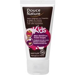 Douce Nature Kindertandpasta rood fruit (50 ml)