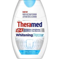 Theramed 2 in 1 Power whitening tandpasta (75 ml)