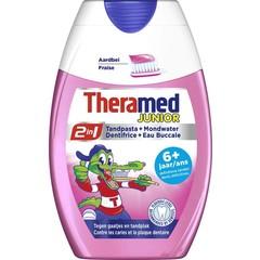 Theramed 2 in 1 junior 6 jaar+ (75 ml)