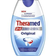 Theramed 2 in 1 original tandpasta (75 ml)