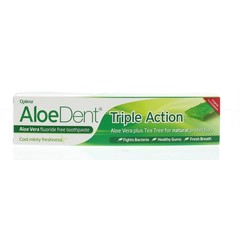 Optima Aloe dent aloe vera tandpasta triple action (100 ml)