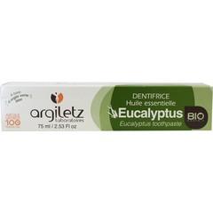 Argiletz Tandpasta eucaluptus bio (75 ml)
