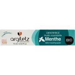 Argiletz Tandpasta menthe (75 ml)