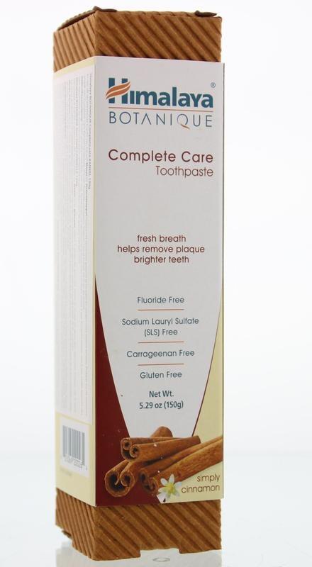 Himalaya Tandpasta botanical complete care kaneel (150 gram)