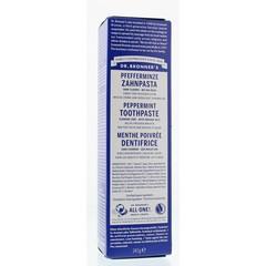 Dr Bronners Tandpasta zonder fluor mint (140 gram)