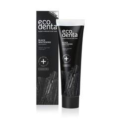 Ecodenta Tandpasta whitening houtskool extra black (100 ml)