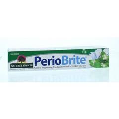Natures Answer Periobrite natuurlijke tandpasta 22 kruiden en Q10 (113 gram)