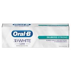 Oral B Tandpasta 3D white luxe diamond strong 75 ml (75 ml)