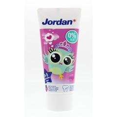 Jordan Tandpasta junior 0 - 5 jaar (50 ml)