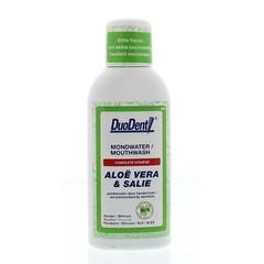 Duodent Mondwater aloe vera / salie (100 ml)