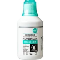 Urtekram Mondwater sensitive strong mint (300 ml)