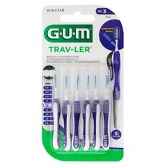 GUM Trav-ler ragers 1.2 mm paars (6 stuks)