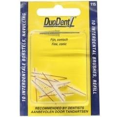 Duodent Interdentaal borstel refill 2.8 (10 stuks)