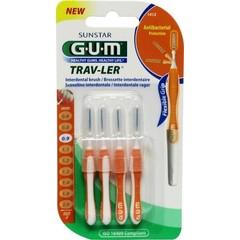 GUM Trav-ler rager 0.9 mm (oranje) (4 stuks)
