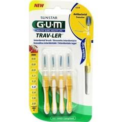 GUM Trav-ler rager 1.3 mm (geel) (4 stuks)