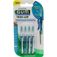 GUM Trav-ler rager 1.6 mm (blauw) (4 stuks)