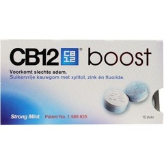 CB12 Mondverzorging boost kauwgum (10 stuks)