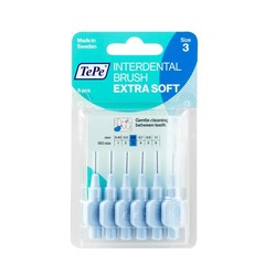 Tepe Interdentale rager extra soft 0.6 mm lichtblauw (6 stuks)