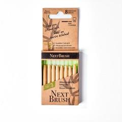 Nextbrush Bamboe interdentale ragers ISO 2 (8 stuks)