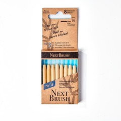 Nextbrush Bamboe interdentale ragers ISO 3 (8 stuks)