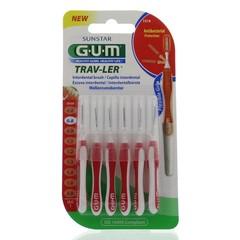 GUM Trav-ler rager 0.8 mm (rood) (6 stuks)