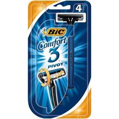 BIC Comfort 3 scheermesjes (4 stuks)