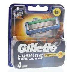 Gillette Proglide power mesjes (4 stuks)