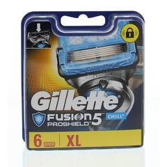 Gillette Proshield chill mesjes (6 stuks)