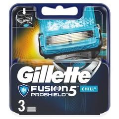 Gillette Fusion5 proshield chill mesjes (3 stuks)