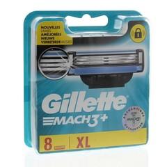 Gillette Mach3 base mesjes (8 stuks)