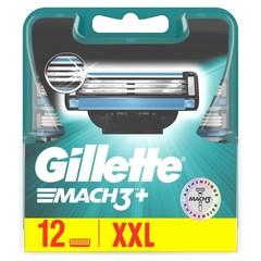 Gillette Mach3 base mesjes (12 stuks)