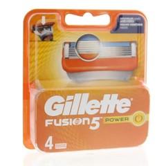 Gillette Fusion 5 power mesjes (4 stuks)