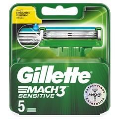 Gillette Mach3 power sensitive mesjes (5 stuks)
